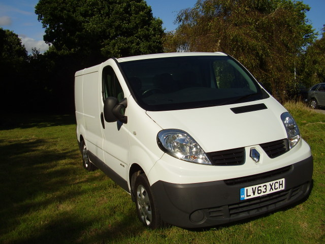 2014 (63) RENAULT TRAFIC SL27 DCi 115 £6,500.00 1995cc, 6 speed