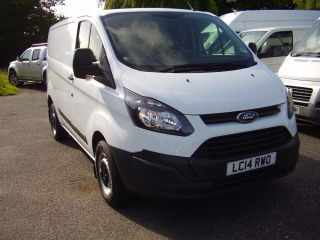 2014(14) TRANSIT CUSTOM L1 290 100ps £11,975.00 2198cc, 19,000 miles