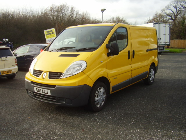2011 Renault Trafic SL29 Dci 115 £5,995.00 Tailgate, aircon, electric windows/mirrors, 1 owner