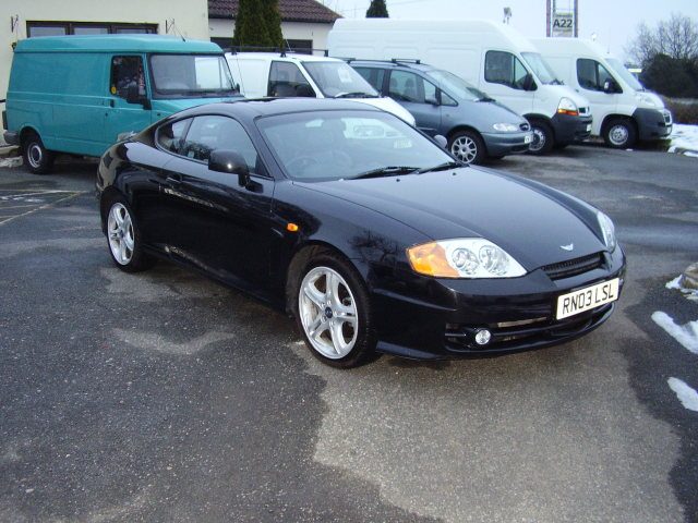 2003 hyundai coupe v6 £1,975.00 leather seats, elec. windows
