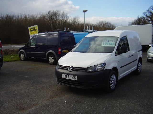 2013(13) VOLKS WAGEN CADDY C20 £5,975.00 STARTLINE TDi new shape